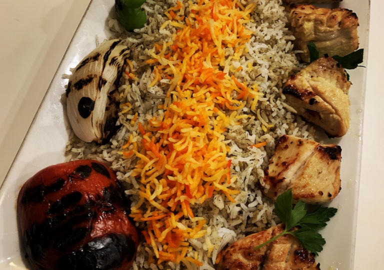 caspian-kabab-chicken-kabab-dinner